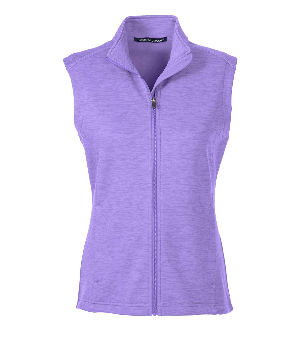 Ladies Newbury Mélange Fleece Vest