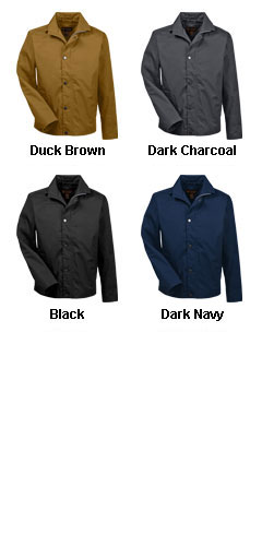Mens Auxiliary Canvas Work Jacket - All Colors