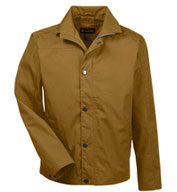 Custom Harriton Mens Auxiliary Canvas Work Jacket