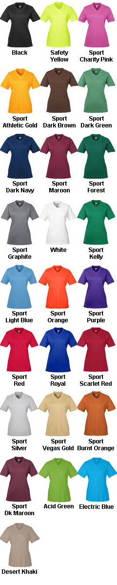 Ladies Zone Performance T-Shirt - All Colors