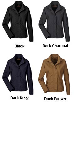Ladies Auxiliary Canvas Work Jacket - All Colors