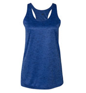 Custom Ladies Tonal Blend Racerback Tank