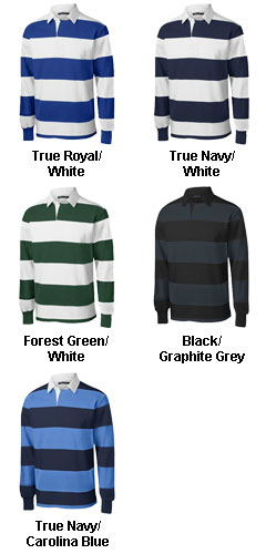 Classic Long Sleeve Rugby Polo - All Colors