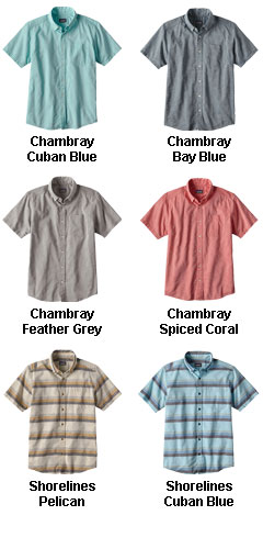 Patagonia Mens Lightweight Bluffside Shirt - All Colors