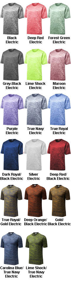 PosiCharge® Electric Heather Tee - All Colors