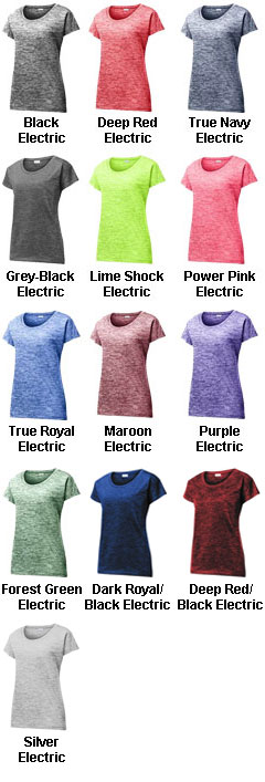 Ladies PosiCharge® Electric Heather Tee - All Colors