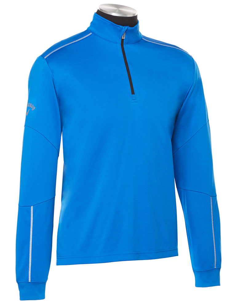 Callaway Mens Water-Repellent 1/4-Zip Mock