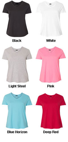 Hanes - Just My Size Womens V-Neck Tee - All Colors