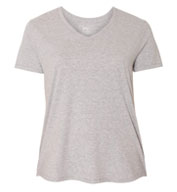 Custom Hanes - Just My Size Womens V-Neck Tee