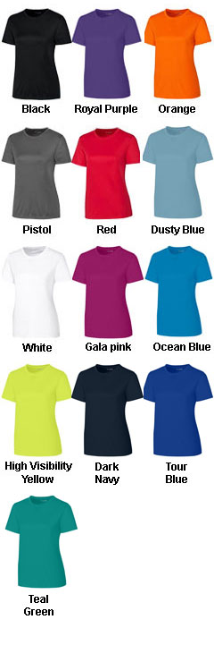 Clique Ladies Spin Dye Jersey Tee - All Colors