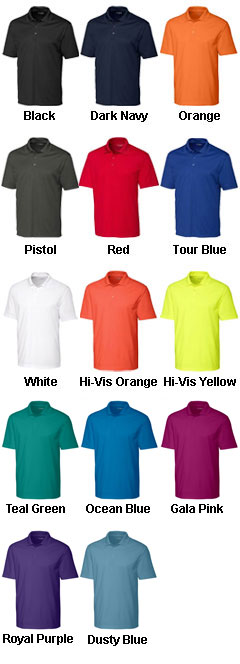 Clique Mens Spin Dye Pique Polo - All Colors