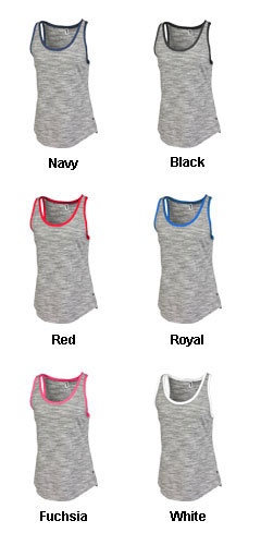 Womens Space-Dye Edged Tank - All Colors