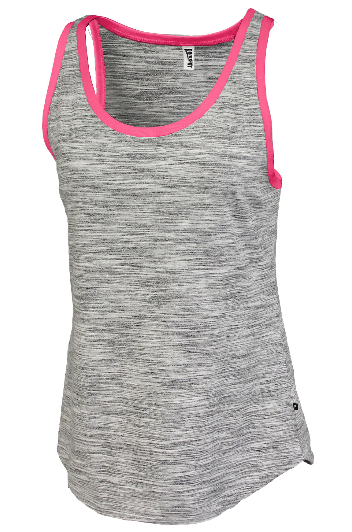 Womens Space-Dye Edged Tank