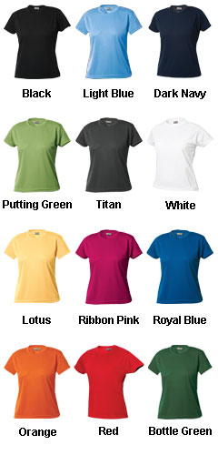 Womens Ice Tee - All Colors