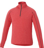 Custom Trimark Mens Taza Knit Quarter Zip
