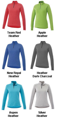 Womens Taza Knit Quarter Zip - All Colors