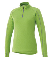 Custom Trimark Womens Taza Knit Quarter Zip