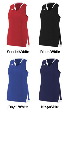 Womens New Balance Lacrosse Freeze Jersey - All Colors