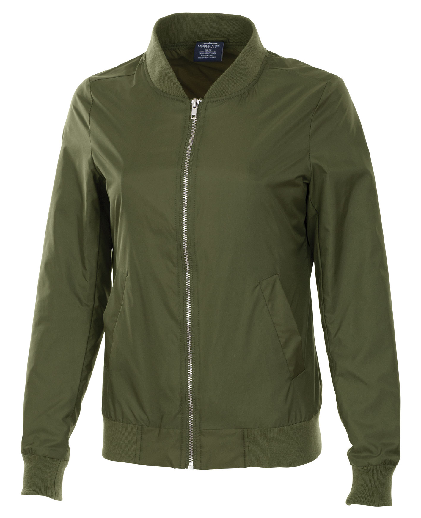 Womens Boston Flight Jacket by Charles River