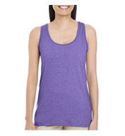 Custom Gildan Ladies Softstyle® Raceback Tank