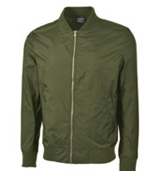 Custom Charles River Mens Boston Flight Jacket