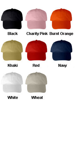 Washed Polo Cotton Cap - All Colors
