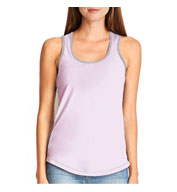 Custom Next Level Ladies Ideal Colorblock Racerback Tank