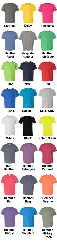 Gildan Youth Softstyle® T-Shirt  - All Colors