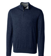 Custom Cutter & Buck Mens Lakemont Half Zip