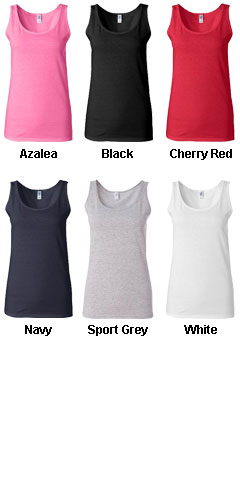 Gildan Ladies Softstyle® Fitted Tank  - All Colors