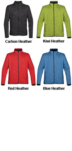 Mens Donegal Full Zip Jacket - All Colors