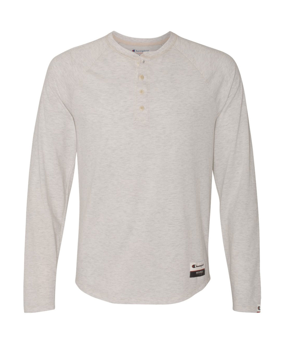 Champion - Authentic Originals Mens Slub Henley