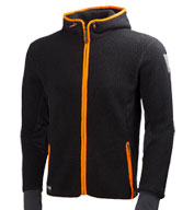 Custom Mjolnir Hood Polartec Fleece Mens Jacket by HH Workwear