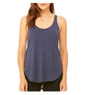 Custom Bella + Canvas Ladies Flowy Side Slit Tank