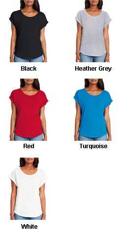 Next Level Ladies Dolman Rolled Sleeves - All Colors