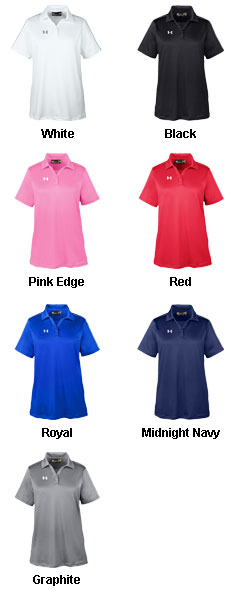 Under Armour Ladies Tech Polo - All Colors