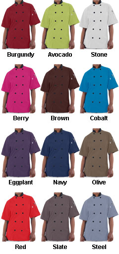 Havana Adult Chef Coat - All Colors