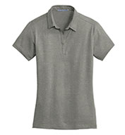 Custom Ladies Meridian Cotton Blend Polo