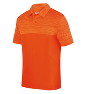 Custom Augusta Mens Shadow Tonal Heather Polo