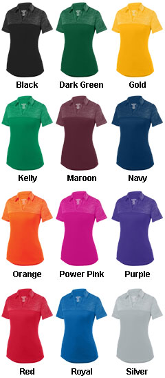 Ladies Shadow Tonal Heather Sport Shirt - All Colors