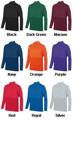 Shadow Tonal Heather 1/4 Zip - All Colors