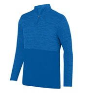 Custom Shadow Tonal Heather Mens 1/4 Zip