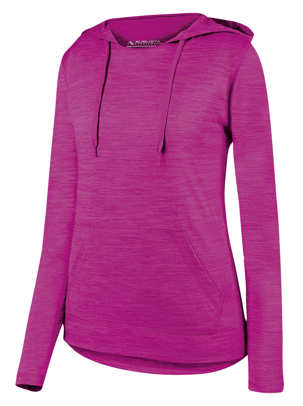 Augusta Ladies Shadow Tonal Heather Hoodie
