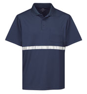 Custom Tri-Mountain Mens Civic Pocket Polo