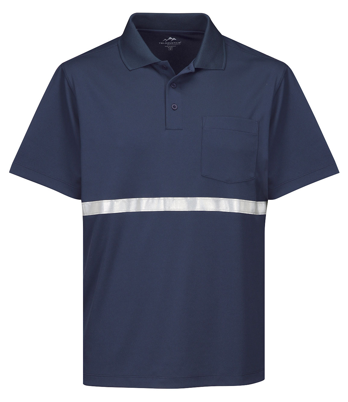 Mens Civic Pocket Polo