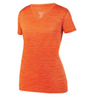Custom Ladies Shadow Tonal Heather Training Tee