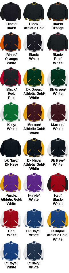 Game Varsity Jacket - All Colors