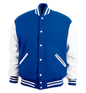 Custom Game Sportswear Adult Varsity Wool Leather Jacket