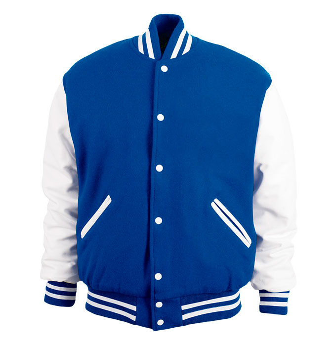 Game Sportswear Adult Varsity Wool Leather Jacket