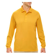 Custom Mens Pinnacle Performance Long-Sleeve Polo